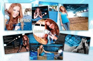 Larissa's album collage